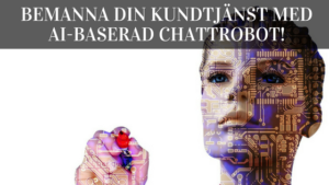 chattrobot ai kundtjänst