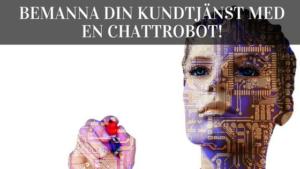chattrobot kundtjänst ai