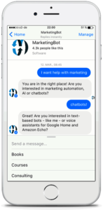chatbot development consulting services